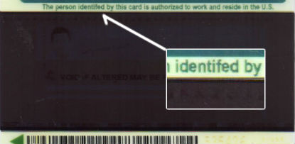 Fake Permanent Resident Card